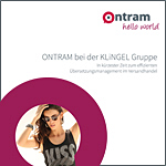 ONTRAM bei der KLiNGEL Gruppe In kürzester Zeit zum effizienten Übersetzungsmanagement im Versandhandel
