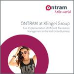 ONTRAM at Klingel Group - Fast Implementation of Efficient Translation Management in the Mail Order Business