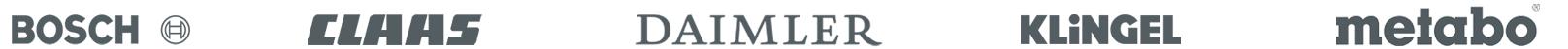 Logos der ONTRAM Kunden