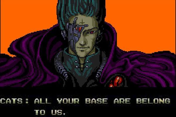 Zero Wing - Falsche Übersetzungen in Computerspielen