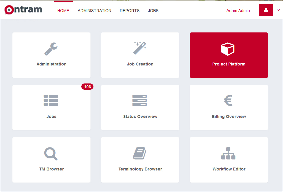 ONTRAM Project Platform nun in ONTRAM integriert